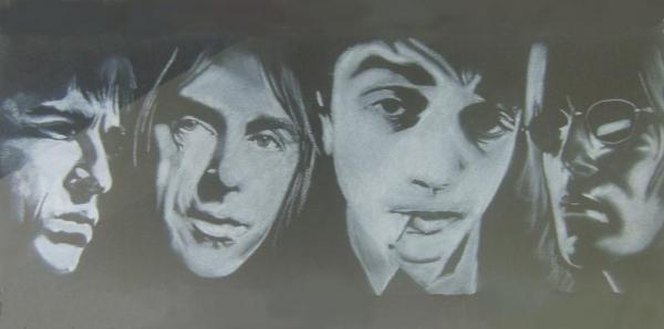 Pete Doherty, Liam Gallagher, Paul Weller, Noel Gallagher by KLARTWORK